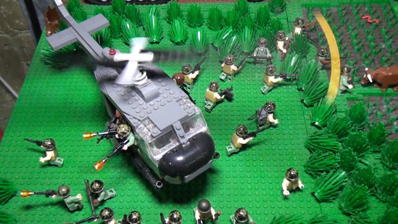 Lego Vietnam War Diorama Brickmania Youtube
