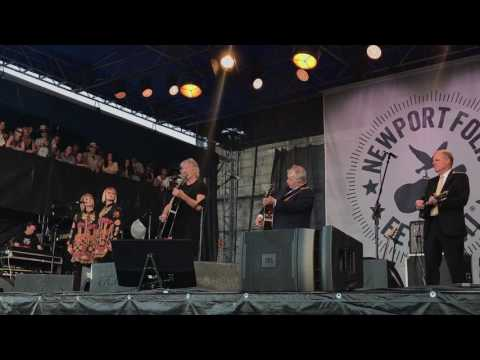 Roger Waters & John Prine - Newport Folk Fest 2017 - Hello In There