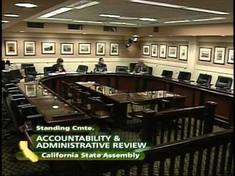 Assembly Accountability and Administrative Review: Information Technology 11/18/2009