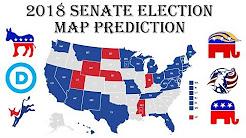 2018 Senate Predictions - 2018 November Elections 1st Projection - Will Democrats take Senate?