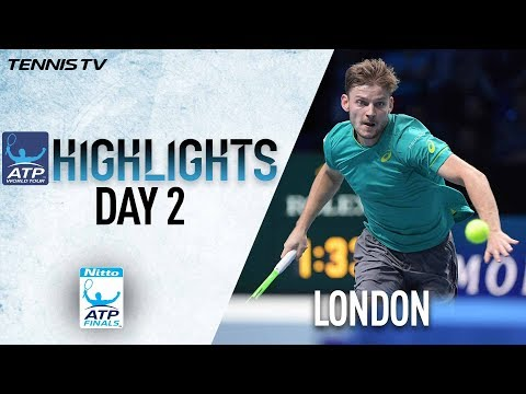 Highlights: Goffin Earns First Win At The O2 Nitto ATP Finals 2017