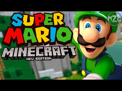 Super Mario Mash-Up Pack! - Minecraft Wii U Gameplay - Episode 3