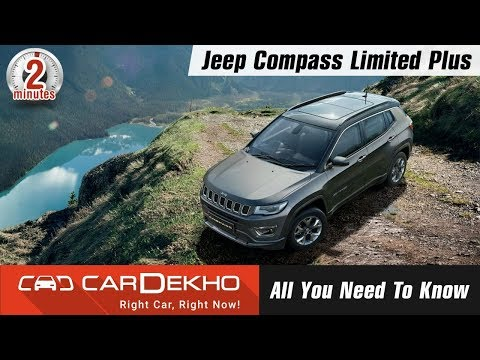 Jeep Compass Limited Plus | Sunroof, New...