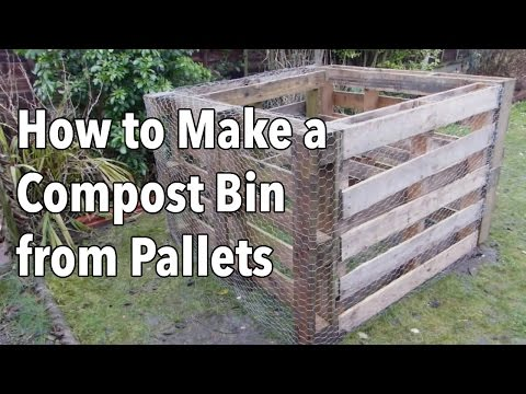 How To Make A Compost Bin From Pallets You