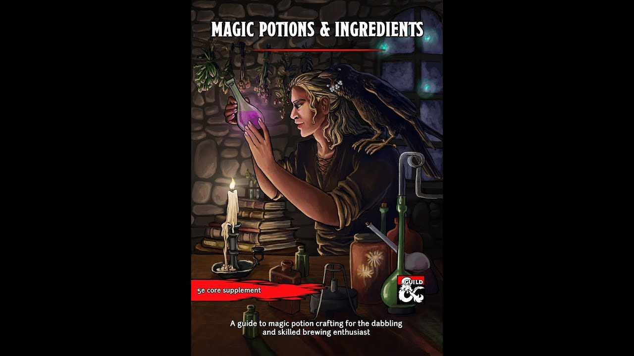 DMs Guild Review – Magic Potions & Ingredients – Eric Watson
