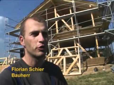 видео: Немецкие строители возводят дом из соломы