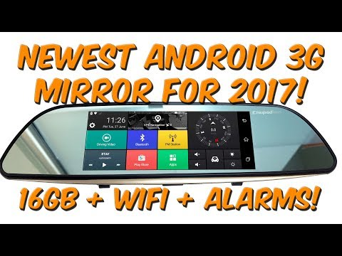 Newest 3G Android Rear-view Mirror DVR for 2017 In-depth Review
