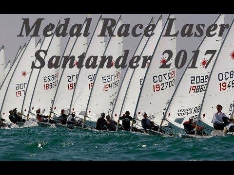 Medal Race - LASER - Santander 2017