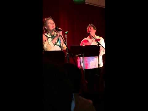Jane Siberry and kd lang Calling All Angels at the Secret Society Portland 12 06 14