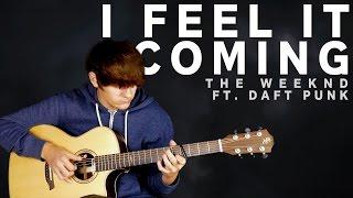 I Feel It Coming - The Weeknd ft. Daft Punk [Fingerstyle Guitar Cover by Eddie van der Meer]