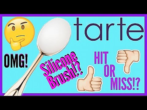 NEW TARTE SILICONE BRUSH REVIEW | Hit or Miss? | Paola Franco