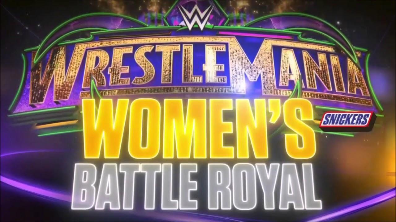 Image result for wrestlemania 34 women's battle royal