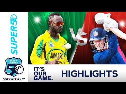 Miller In Form For Scorpions | Jamaica v USA | Super50 Cup 2018 - Extended Highlights