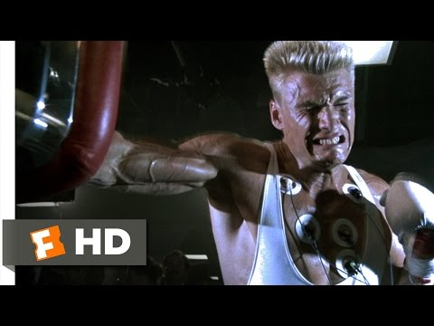 Rocky IV (1/12) Movie CLIP - Whatever He Hits, He Destroys (1985) HD