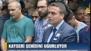 Kayseri Şehidini (Mehmet Erdoğan) Uğurladı 01.06.2017