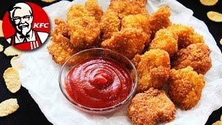 Настоящие Куриные Наггетсы KFC Как Приготовить Наггетсы Рецепты NK cooking