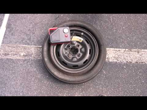 Airing Up A True Space Saver Tire
