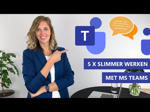 ✔️ 5 Tips om slimmer te werken met Teams Chat