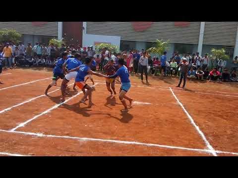 Bvit ( kharghar) vs GPT( thane) / inter college kabaddi tournament....