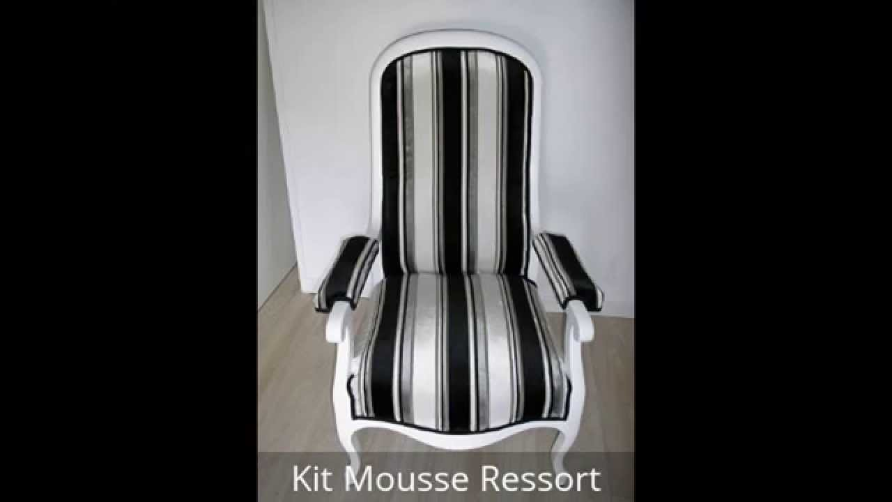 r fection fauteuils voltaire youtube. Black Bedroom Furniture Sets. Home Design Ideas