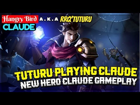 Tuturu Playing Claude, New Hero Gameplay [ Tuturu Claude ] Hangry Bird Claude