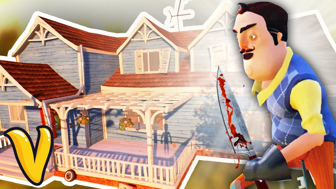 The hello neighbor house - Try Ad Free For 3 Months
