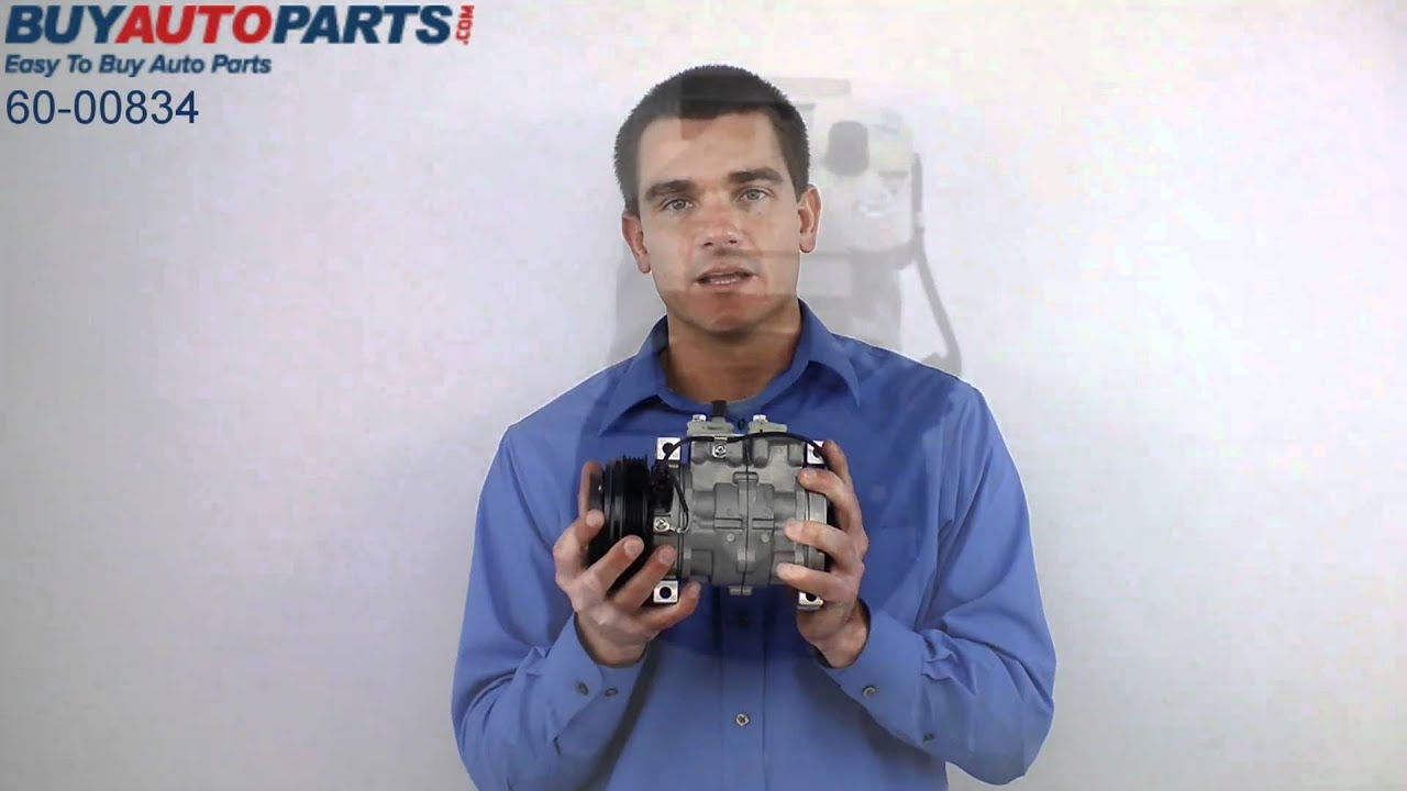 Suzuki Ac Compressor Youtube Denso Kompresor Sx4