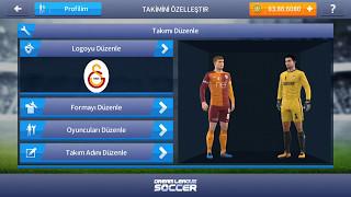 Dream Legue Soccer 2017 Logo ve forma  yapma