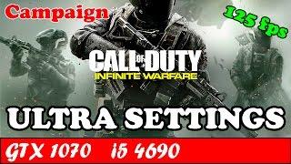 Call of Duty Infinite Warfare (Ultra Settings) | GTX 1070 + i5 4690 [1080p 60fps]