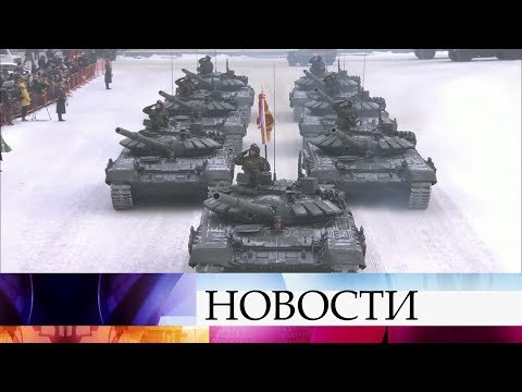 В Санкт-Петербурге прошел Марш памяти в честь годовщины освобождения Ленинграда.