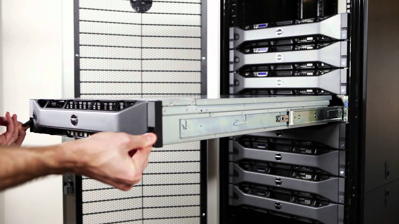 Poweredge R820 Removal From Rack Youtube
