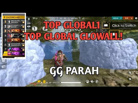 TOP GLOBAL GLOWALL! Reflek Tangan Nya 1 Detik