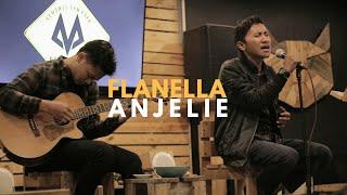 Flanella - Anjelie (Cover) | Halik Kusuma feat UEL