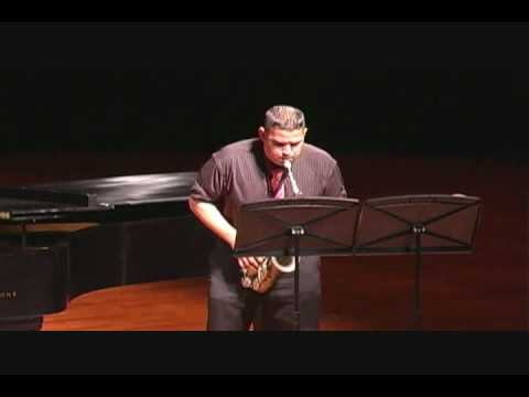 Aria By Bozza, Performed By Matthew Treviño
