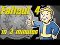 The Entire Story of Fallout 4 in 3 Minutes (All Endings) | Arcade Cloud