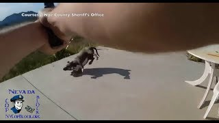 Nevada Deputy Shoots And Kills Family Dog; Jokes About Getting Time Off (FULL)