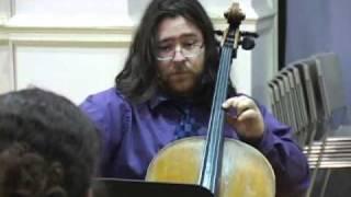 Quinteto sobre los poemas de Carlos Pintado by Pamela Marshall. III. Yo no te nombro musa