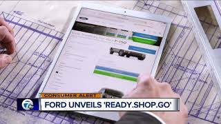 Ford unveils Ready.Shop.Go online car-shopping to reduce dealership wait time