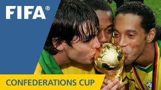 The shining history of the Confederations Cup