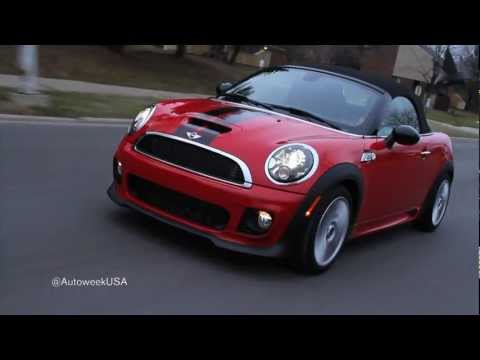 2013 Mini Cooper Roadster S: Natalie Neff takes one for a ride  Autoweek TV
