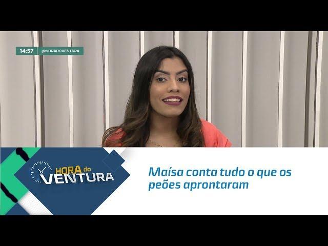 """Maísa conta tudo o que os peões aprontaram em """"A Fazenda""""- Bloco 02"""