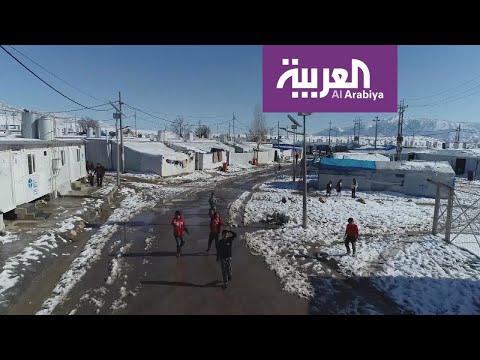 معاناة النازحين شمال غرب العراق تزداد مع تدني درجات الحرارة  - 05:59-2020 / 2 / 12