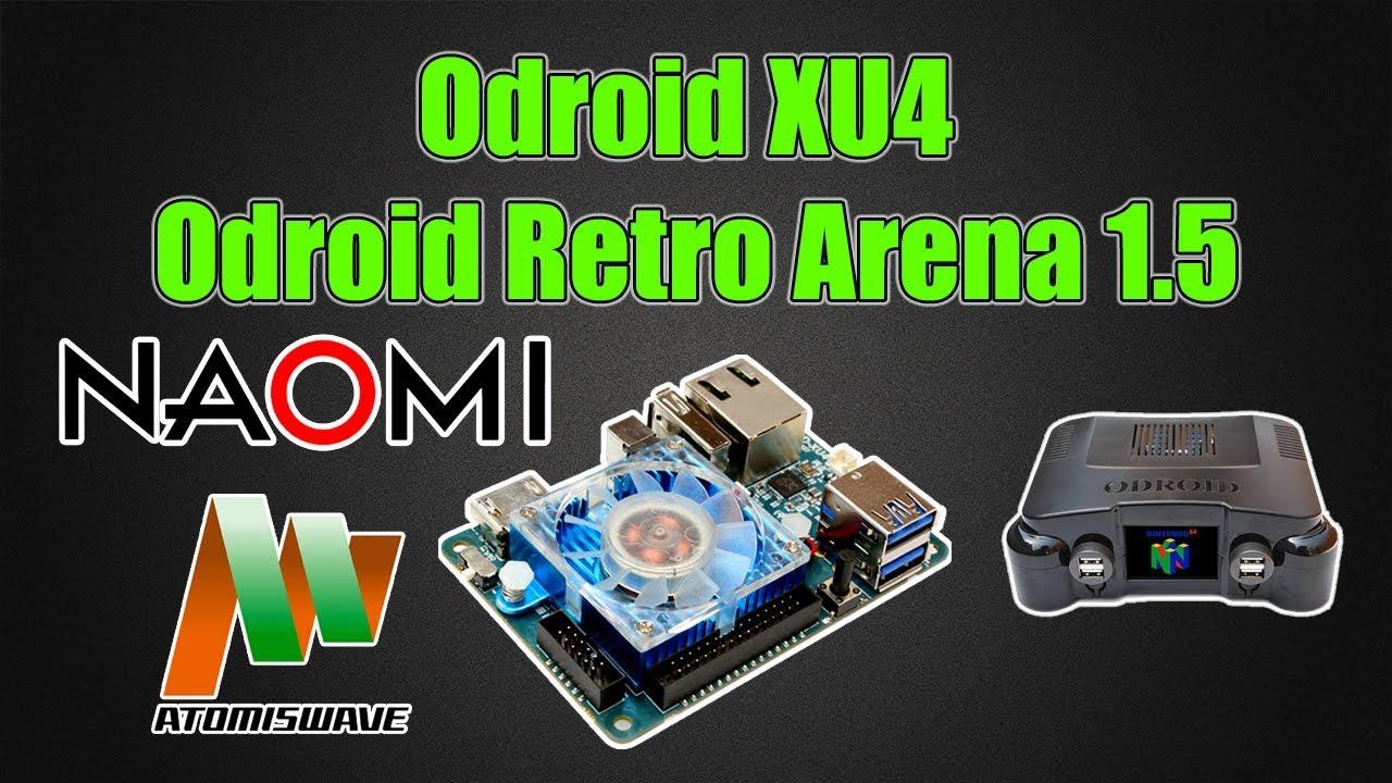 ODROID XU4 RetroPie ORA 1 5 - Naomi - Atomiswave - N64 Case Support