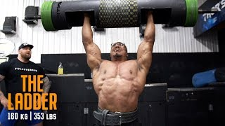 LOG PRESS PR AND LOG LADDER WITH LARRYWHEELS AND WORLDS STRONGEST MAN thumbnail