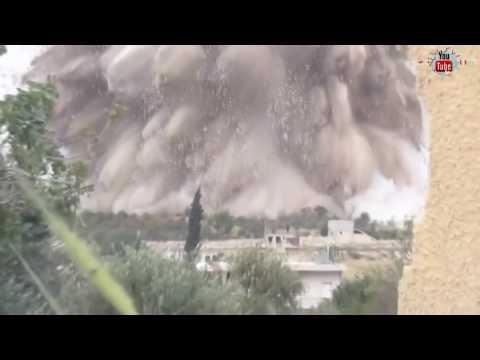 dahsyat..serangan bom mujahidin di kota idlib tentara asad berantakan