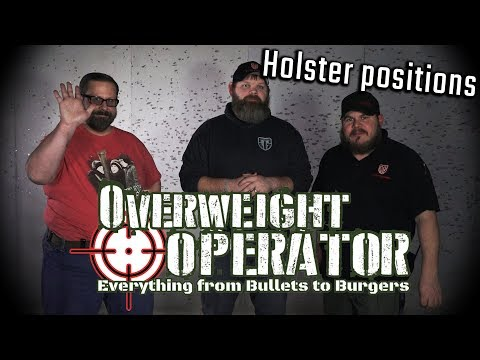 Best Holsters and Positions? - Overweight Operator #FatManFriday