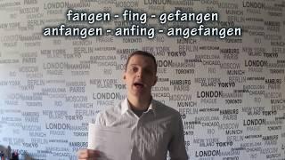 Прошедшее время в немецком. Как запомнить три формы глаголов! Perfekt, список! Урок 27.3.