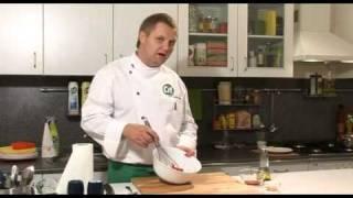 Салат из копченой утиной грудки