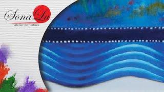 Barrado Falso com Golfinhos em Emborrachado (Parte 1) Sonalupinturas