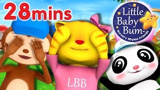Peek A Boo Song Little Baby Bum | Nursery Rhymes for Babies | Songs for Kids